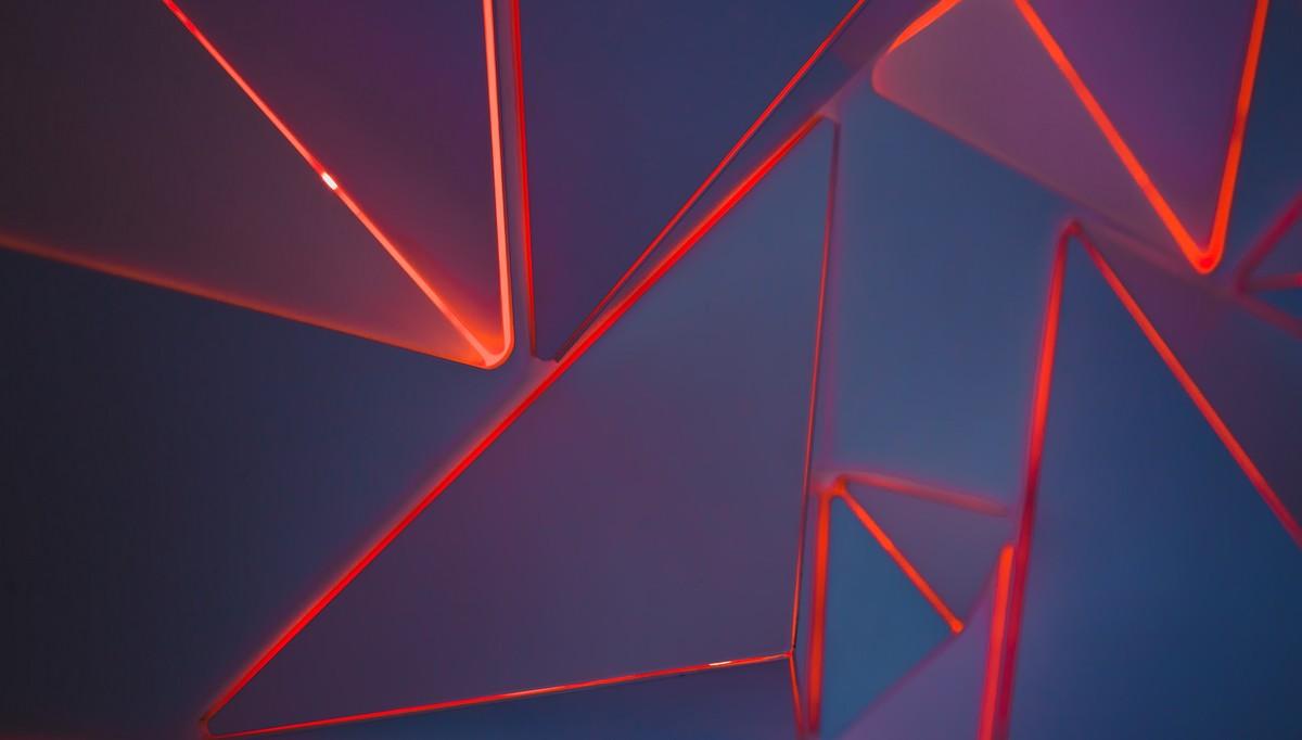 Geometrie v podání nejrůznějších obrazců.