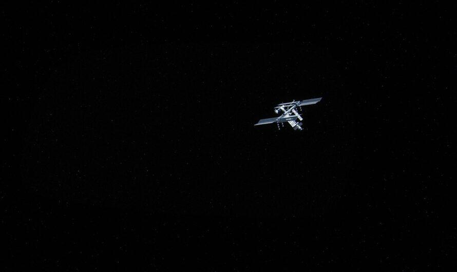 Mezinárodní vesmírná stanice známá pod zkratkou ISS