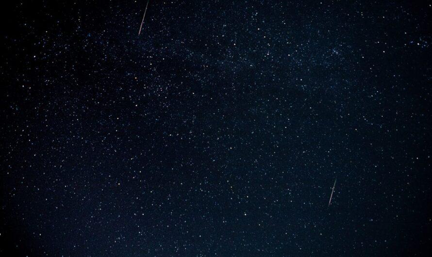 Perseidy přináší zajímavou podívanou na obloze